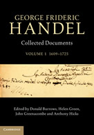 Handel Documents Volume 1